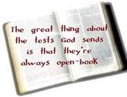 12-23-12 The Bible is our open book test
