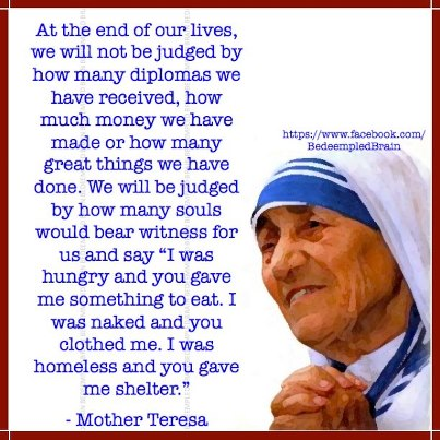 12-9-12 Mother Teresa