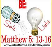 1-20-13 Be the salt Mattehew 5-13-16