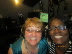 Me and Julie Whitney Scott at talktainment