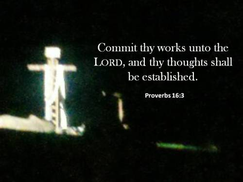 Proverbs 16-3 Commit your work