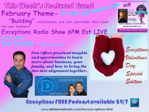 2-14-13  Exceptions Episode Valentines Day