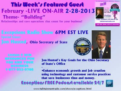 2-28-13  Exceptions Episode Ohio SOS