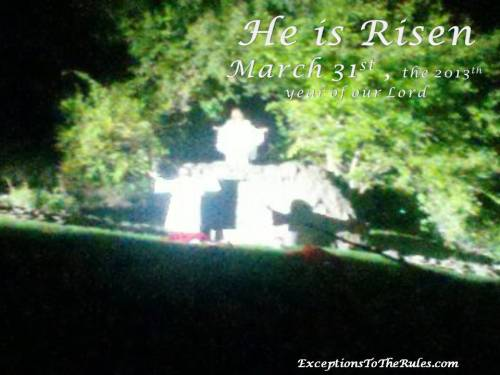 3-31-13  He is Risen E Michelle Lee