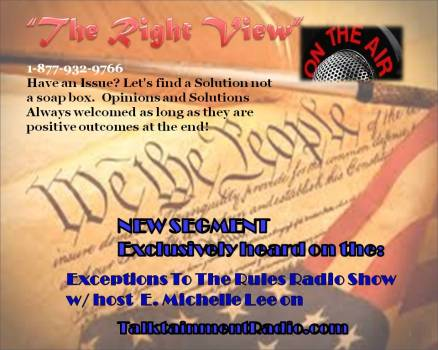 Exceptions Radio Show 4-19-13 The Right View Now is the Time v2