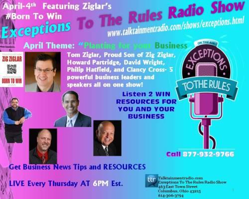 Exceptions Radio Show 4-413 Ziglar