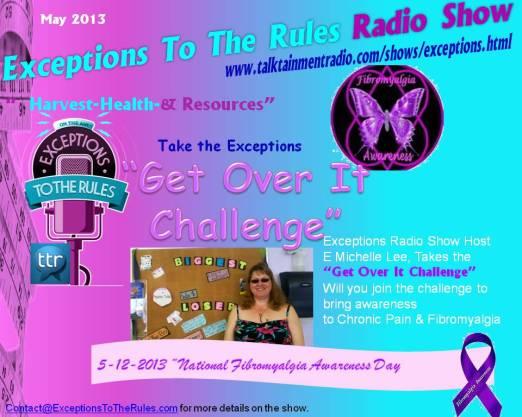 Exceptions Radio Show 5-13 Firbromyalgia Awareness