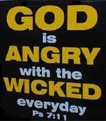 5-5-13 God is Angry psalm 7-11