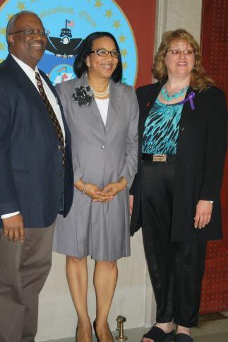 Dr Kevin Hackshaw Councilmember Tyson E Michelle Lee