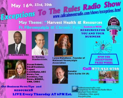 Exceptions Radio Show Guest May 16-23-30 ABC Contributor Susan Solovic