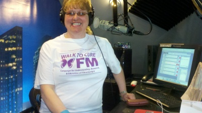 In Studio  E Michelle Lee   Walk For The Cure  5-9-13