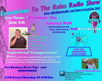 Exceptions Radio Show 6-6-13 Ad