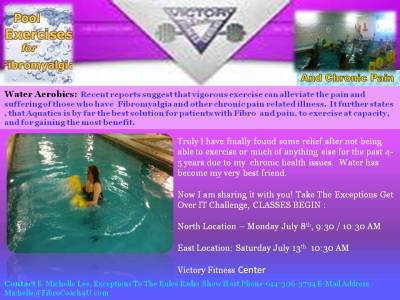 Victory Fitness Center NEW Class- Fibro