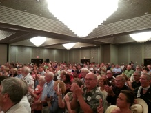 800 plus people Defundobamacare Conservative Town Hall meeting  8-27-13