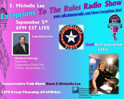 Exceptions Radio Show 9-5-13 Harold Hervey