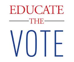 Educate the vote