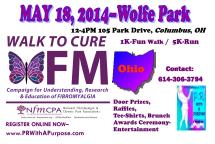 Walk To Cure FM-OH Front Side 3-3-14