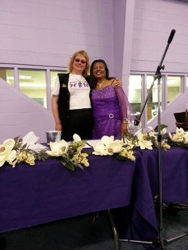 5-10-14 6Th Annual Mothers Day Brunch EMichelle and Priscilla