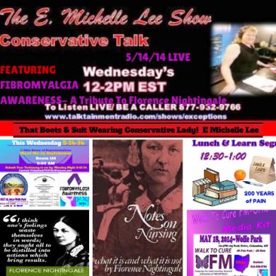 5-14-14  E. Michelle Lee Show Fibromyalgia Florence N Trib