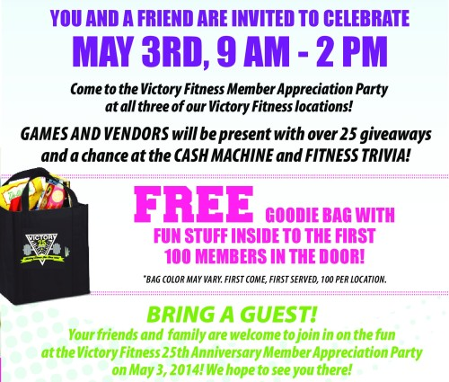 5-3-14 Victory Fitness Membership Appreciation Day
