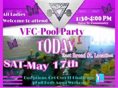 VFC Pool Party  5-17-14