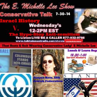 7-30-14  E. Michelle Lee Show