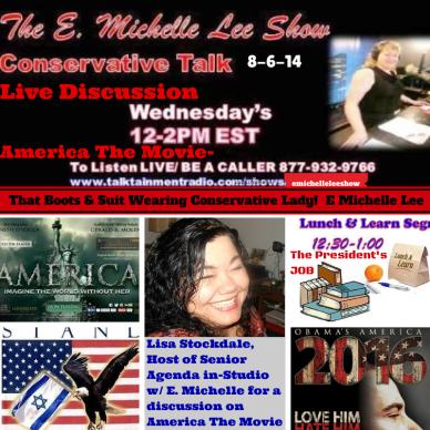 8-6-14 E. Michelle Lee Show