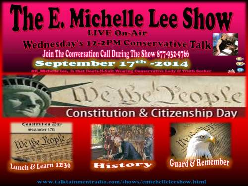 9-17-14 Ad for Constitution Day Show